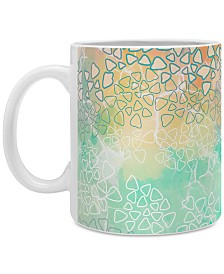 Deny Designs Marta Barragan Camarasa Abstract Triangles Coffee Mug