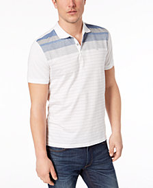 Calvin Klein Men's Stripe Polo
