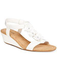 Alfani Women's Valensia Wedge Sandals, Created for Macy's