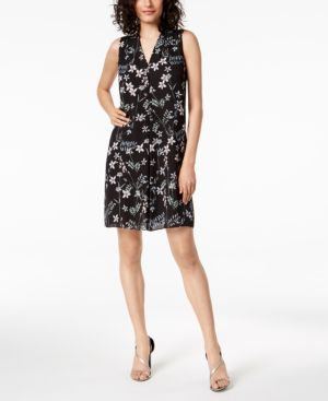 Vince Camuto Printed Shift Dress, a Macy's Exclusive Style 6096610