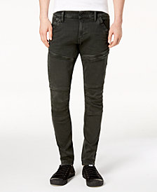 G-Star RAW Men's Rackam Super-Slim Fit Stretch Cargo Jeans, Created for Macy's
