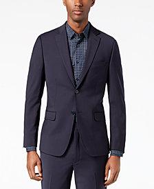 Calvin Klein Men's Skinny Fit Infinite Stretch Navy Suit Jacket