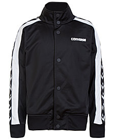 Converse Heritage Snap-Front Warm-Up Jacket, Big Boys