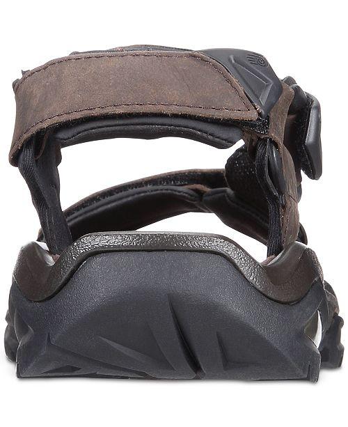 87ce34336 Teva Men s Terra Fi 4 Water-Resistant Leather Sandals   Reviews ...