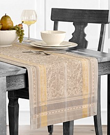 "Promenade Jacquard 72"" Table Runner"