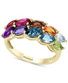 EFFY® Multi-Gemstone Marquise Statement Ring (2-3/4 ct t.w.) in 14k Gold