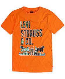 Levi's® Graphic-Print Cotton T-Shirt, Big Boys