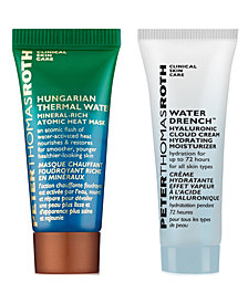 Receive a FREE Mask & Moisturizer Duo with any $45 Peter Thomas Roth Purchase! (a $17 value!)