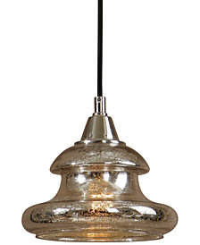 Uttermost Arborea Glass Mini Pendant