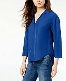 Calvin Klein Jeans Collared Blouse