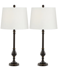 Pacific Coast Nikola Table Lamp, Set of 2