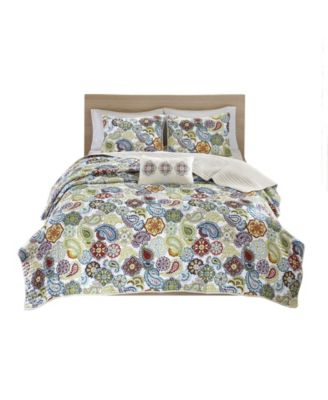 Tamil 4-Pc. Full/Queen Coverlet Set