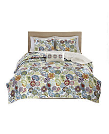 Mi Zone Tamil 4-Pc. King/California King Coverlet Set