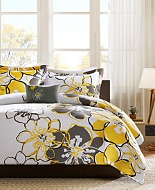 Allison 4-Pc. Full/Queen Duvet Cover Set