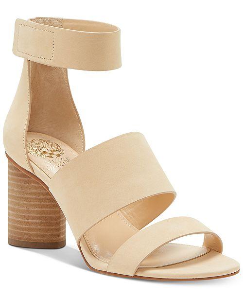 Vince Camuto Junette Cylinder-Heel Dress Sandals Women's Shoes bgDGl3N