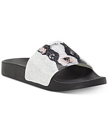 I.N.C. Women's Peymin Pool Slides, Created for Macy's