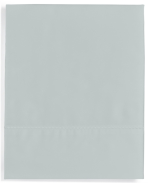 Image of Martha Stewart Collection Solid Open Stock 400 Thread Count Twin Flat Sheet, Created for Macy's Bedding