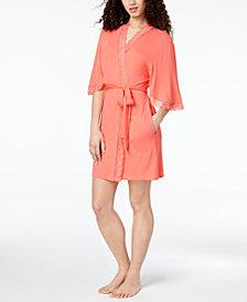 Thalia Sodi Knit Flutter-Sleeve Wrap, Created for Macy's
