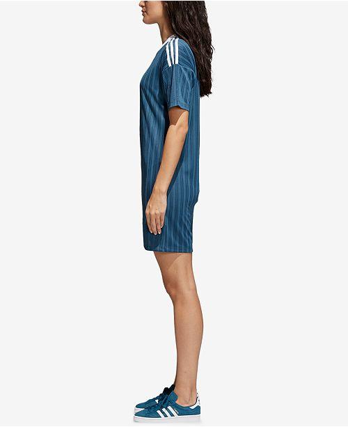 Ribbed Dress adidas Steel Dark adicolor Originals ARqq7wEY