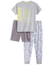 Max & Olivia 3-Pc. Pajama Set, Little & Big Boys