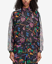 adidas Originals Garden Print Reversible Track Jacket