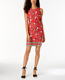Charter Club Print Shift Dress, Created for Macy's