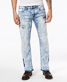 Buffalo David Bitton Men's Straight Six-X Fit Stretch Jeans