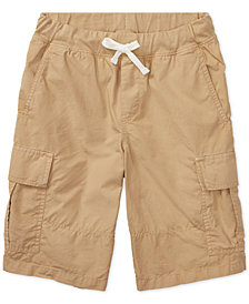 Polo Ralph Lauren Cotton Cargo Shorts, Big Boys