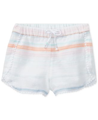 Polo Ralph Lauren Striped Cotton Shorts, Toddler Girls