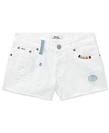 Polo Ralph Lauren Cotton Shorts, Big Girls