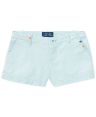 Polo Ralph Lauren. Cotton Chino Shorts, Toddler Girls
