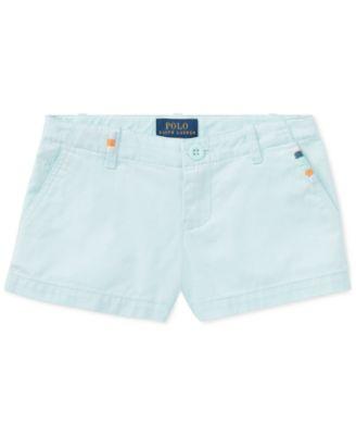 Polo Ralph Lauren. Cotton Chino Shorts, Toddler Girls