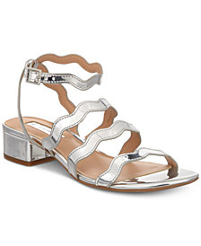 I.N.C. Women's Leticia Strappy Block-Heel Sandals, Created for Macy's