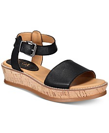 Lucca Lane Kameron Platform Wedge Sandals