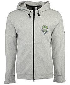 adidas Men's Seattle Sounders FC Ultimate Worn Full-Zip Hoodie