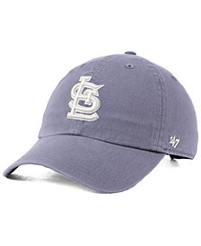 '47 Brand St. Louis Cardinals Dark Gray CLEAN UP Cap