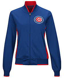 G-III Sports Women's Chicago Cubs Triple Track Jacket