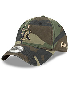 New Era Colorado Rockies Camo Core Classic 9TWENTY Cap