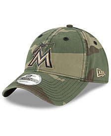 New Era Miami Marlins Camo Core Classic 9TWENTY Cap