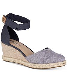 Sperry Women's Valencia Platform Espadrille Wedge Sandals