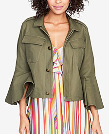 RACHEL Rachel Roy Bell-Sleeve Utility Jacket, Created for Macy's