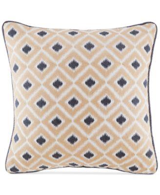 "Kayden 16"" Geometric Jacquard Fashion Decorative Pillow"