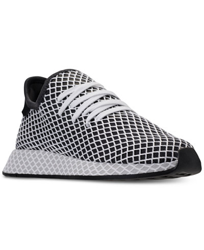 adidas Men's Deerupt Runner B Side Pack Casual Sneakers from Finish Line