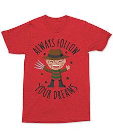Changes Men's Freddy Kreuger Dreams Graphic-Print T-Shirt