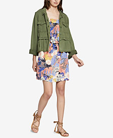 Sanctuary New Discovery Cotton Peplum Jacket