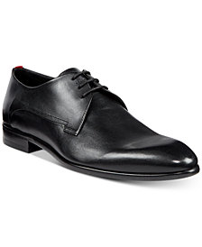 HUGO Men's Dress Appeal Smooth Leather Derby Oxfords