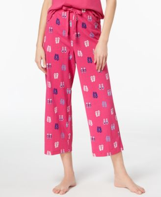 Cotton Printed Pajama Pants, Created for Macy's