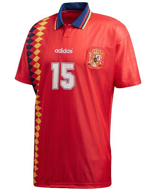 415d9994932 adidas Men's Originals Spain Replica Soccer T-Shirt; adidas Men's Originals  Spain Replica Soccer T- ...