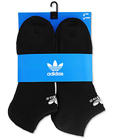 adidas Men's Originals 6-Pk. No-Show Socks