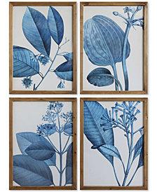 Wood Framed Wall Art, Set of 4